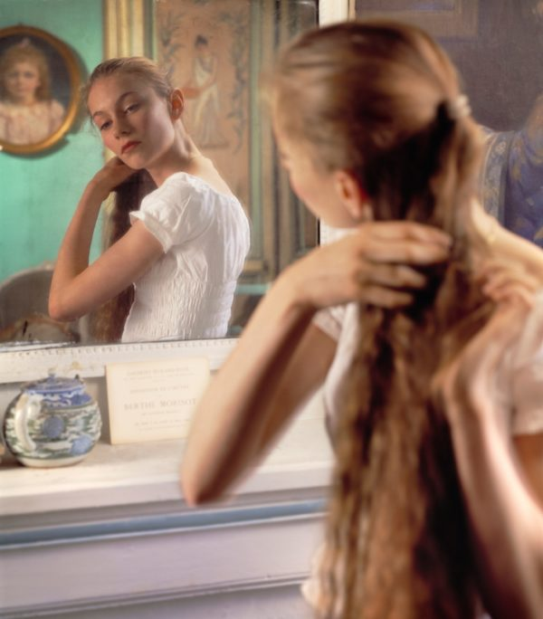 In Front Of The Mirror, After Morisot