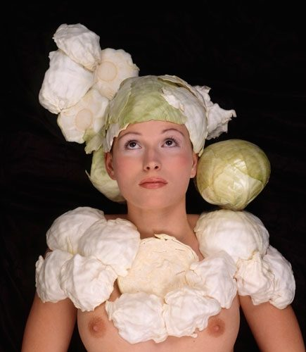 The White Cabbage Head