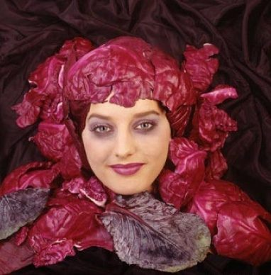 The Red Cabbage Head