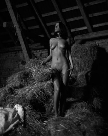 Diana in barn #1