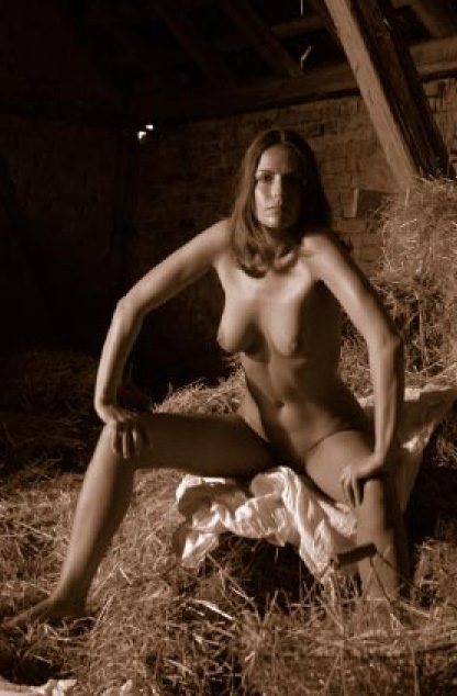 Diana in a barn #2