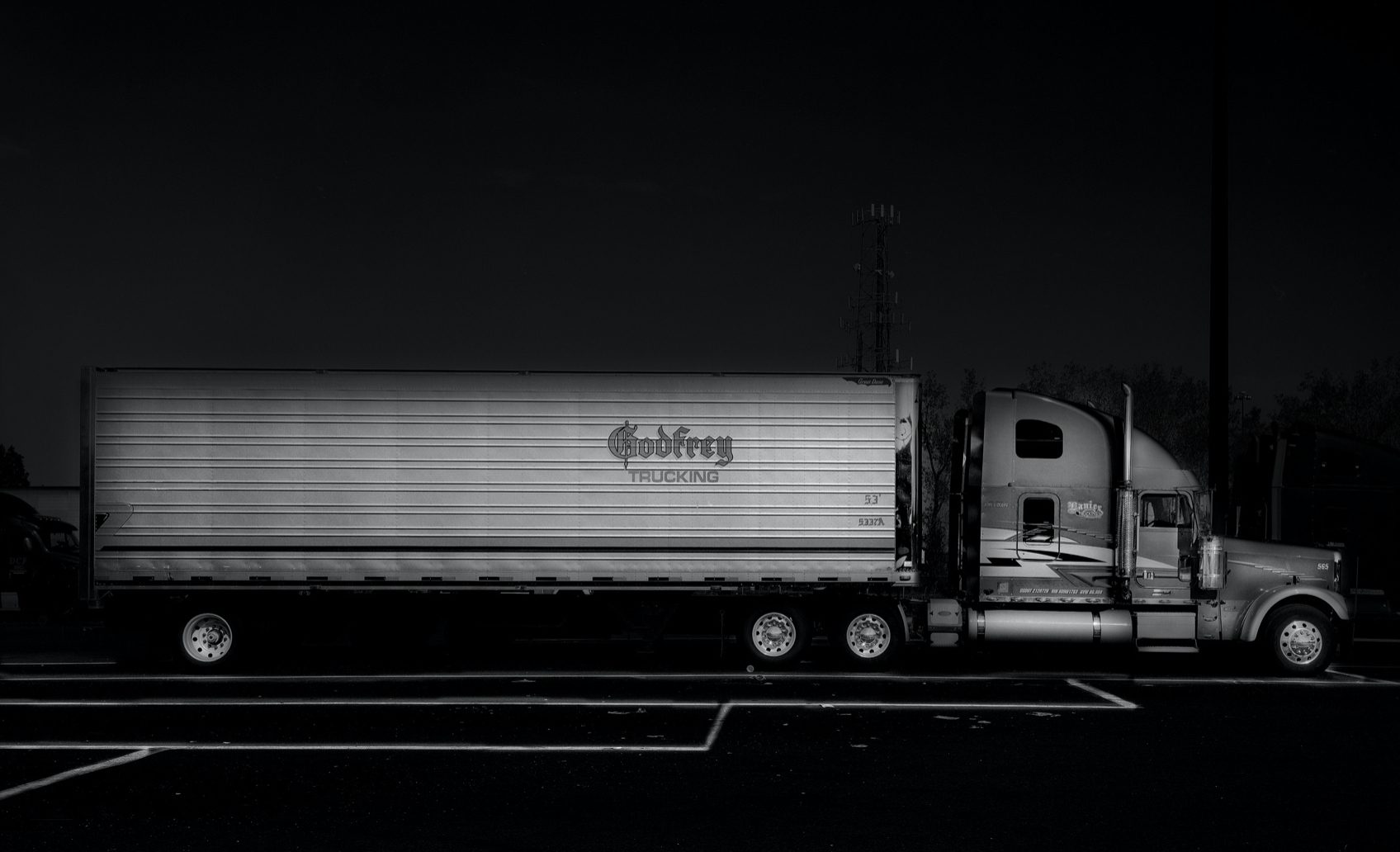 Seeing The Black Dog - Godfrey Trucking