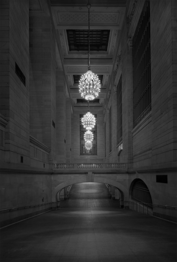 """""""Ditch Light"""" - Grand Central Station Project - 2 am Corridor"""