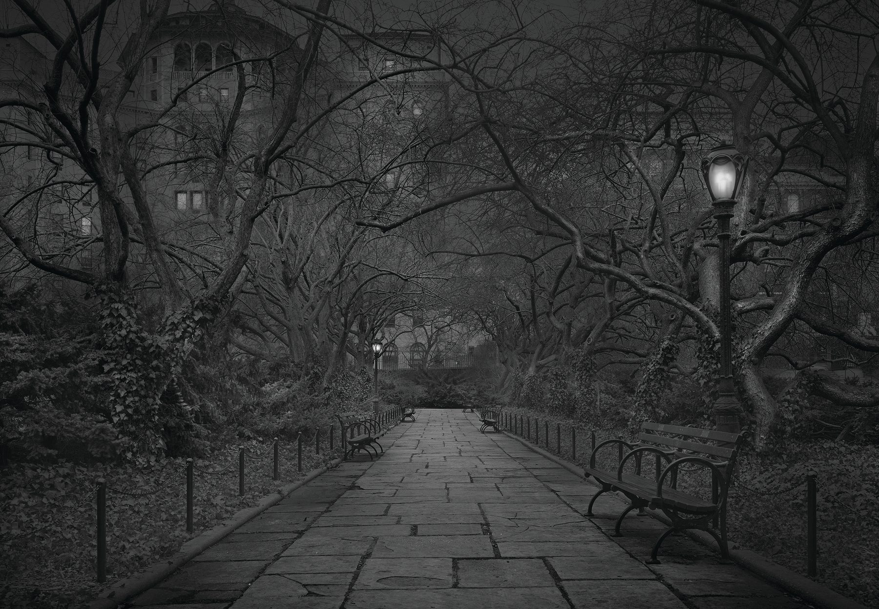 Deep In A Dream - Central Park - Private Gardens