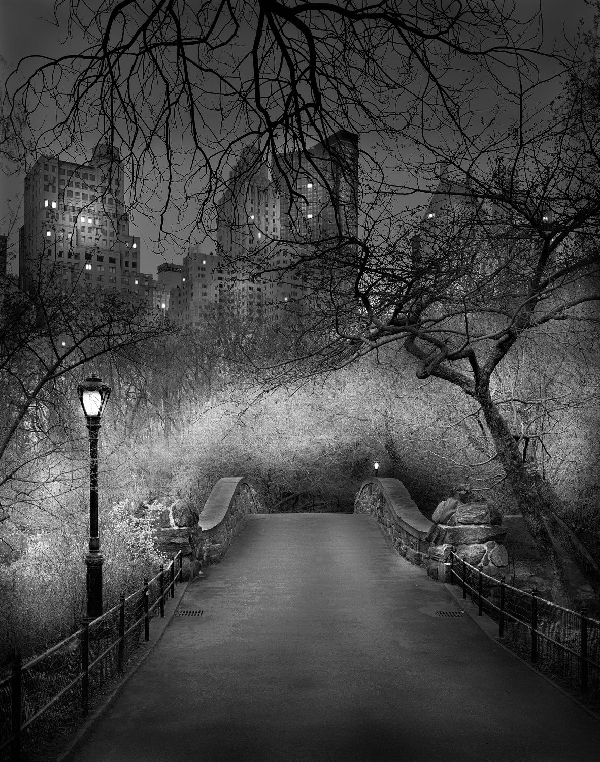 Deep In A Dream - Central Park - The Gapstow Bridge