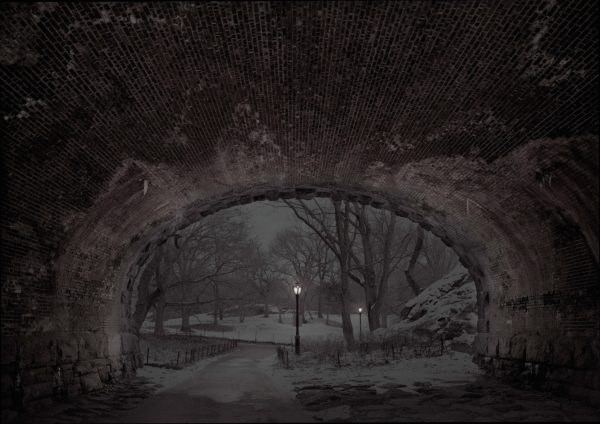 """Deep In A Dream - Central Park - Central Park """"Eaglevale Arch Looking North"""""""