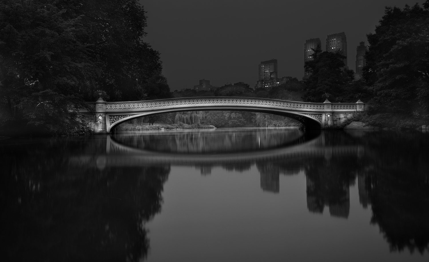 Deep In A Dream - Central Park - 5am Bow Bridge