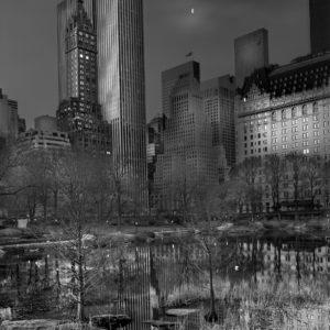 Deep In A Dream - Central Park - Central Park Moonrise (Half Moon)