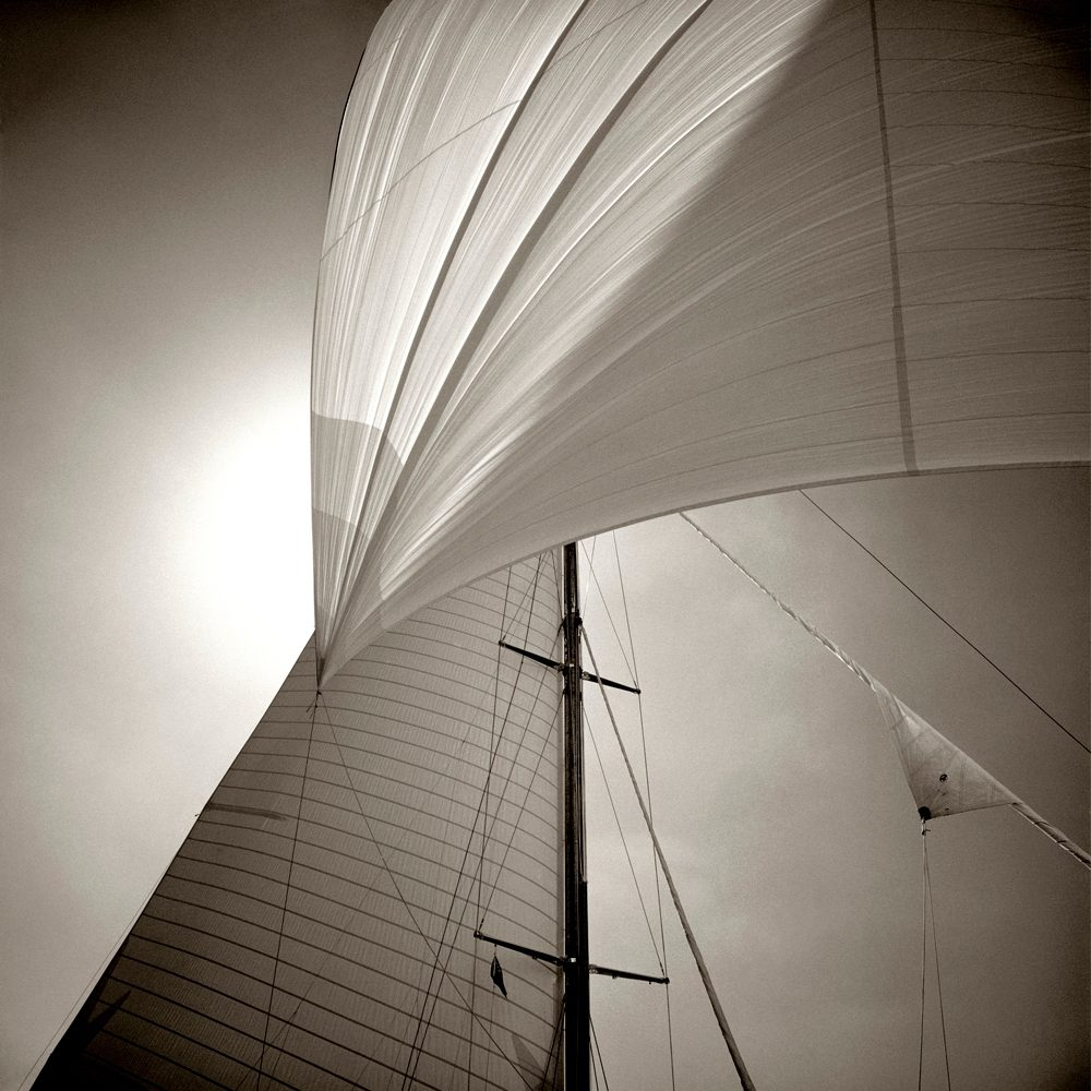 Spinnaker Detail, Cambria