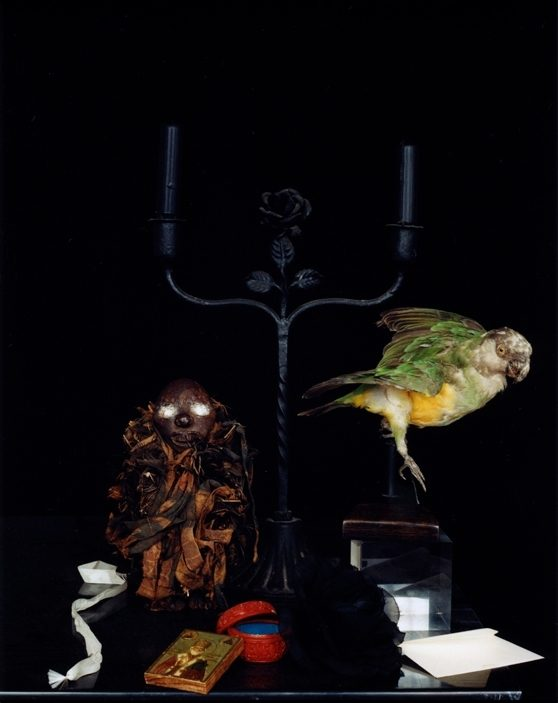 Still life with a African Fetish