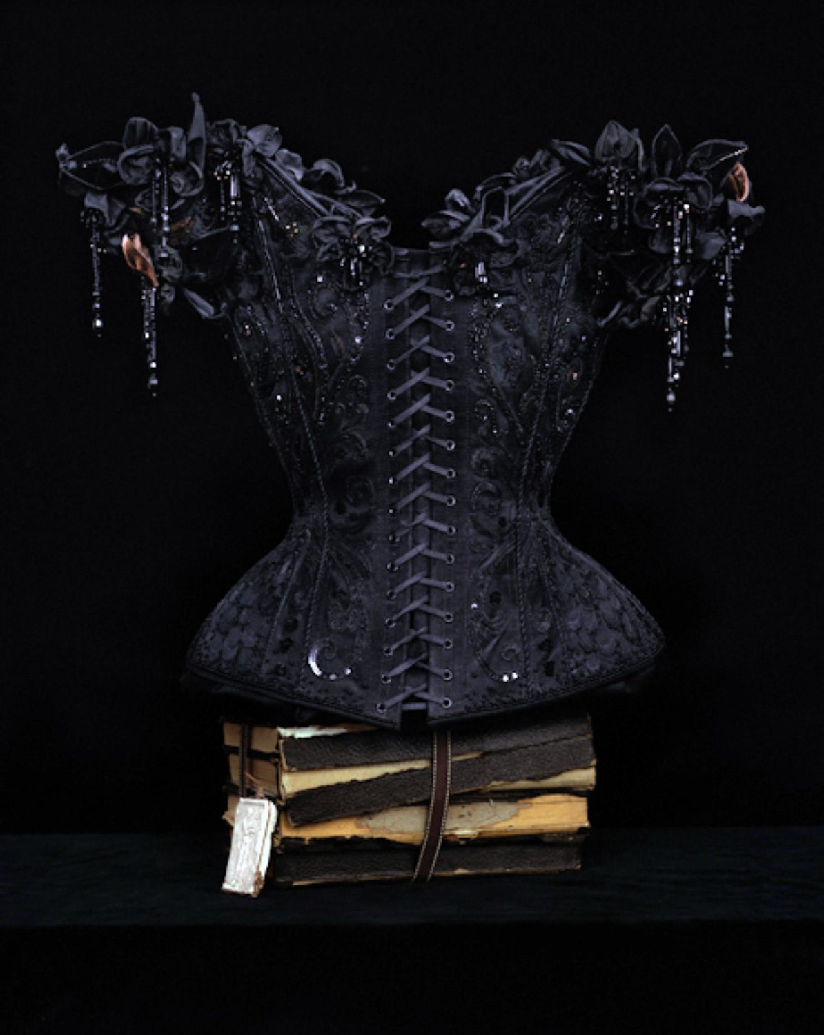 Still life with a corset by Mr. Pearl