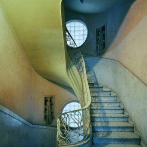 Deco Stairwell, Havana