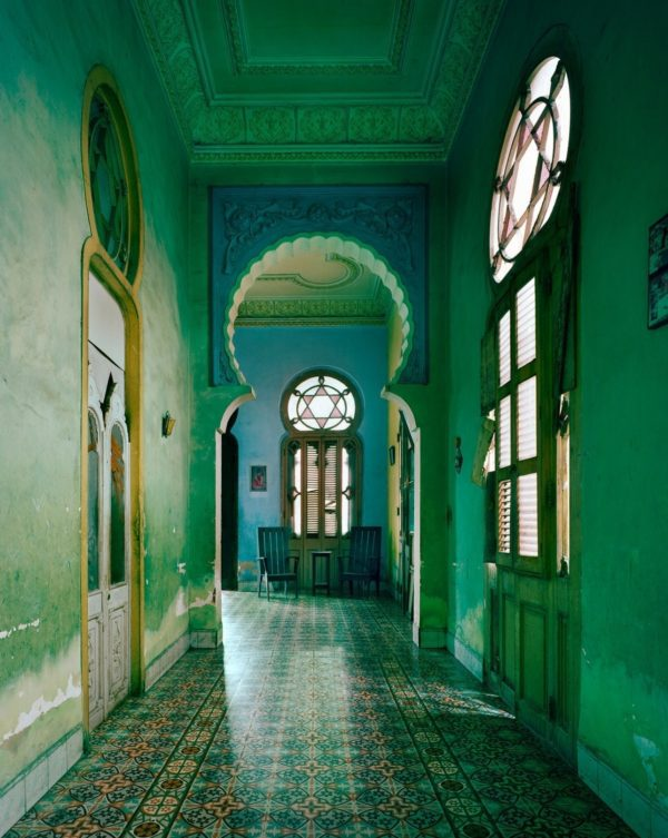 Blue Moorish Arch, Havana