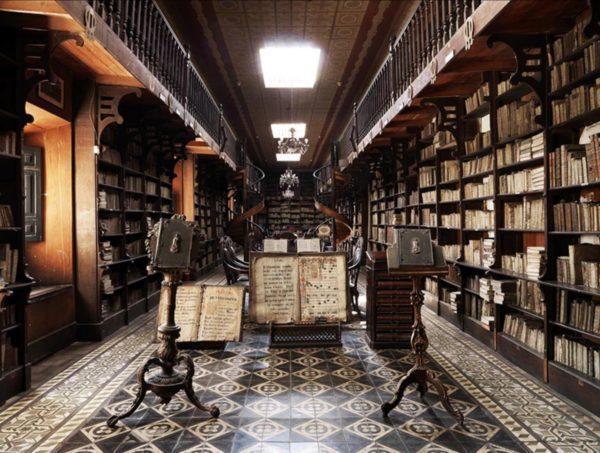 Biblioteca S. Francisco, Lima, Peru