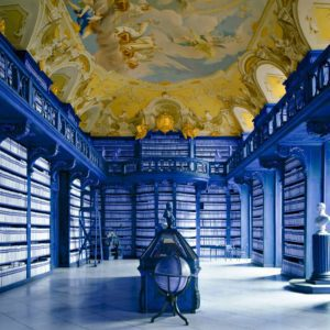 Biblioteca di Seitenstetten, Austria