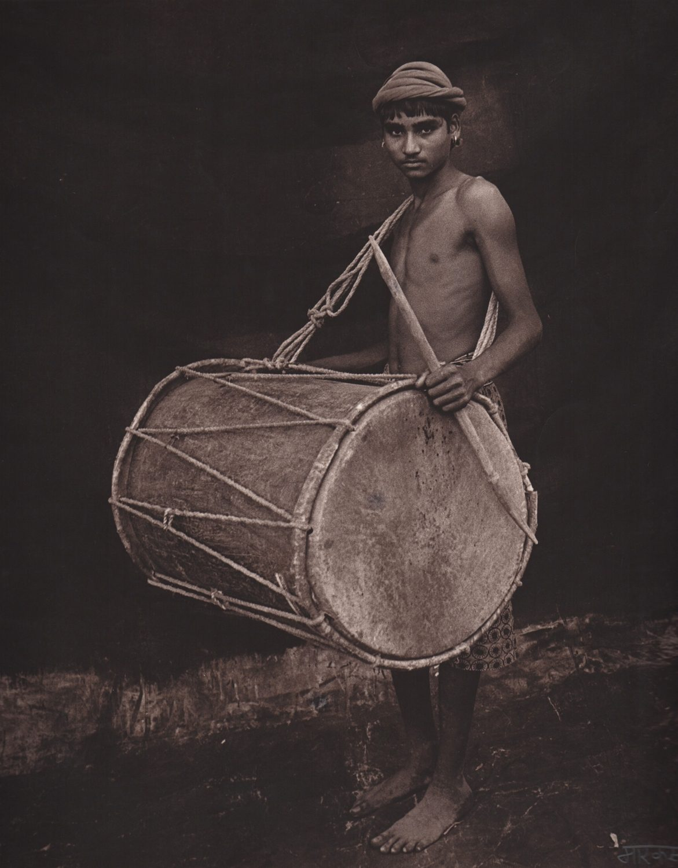 Shekar with Drum
