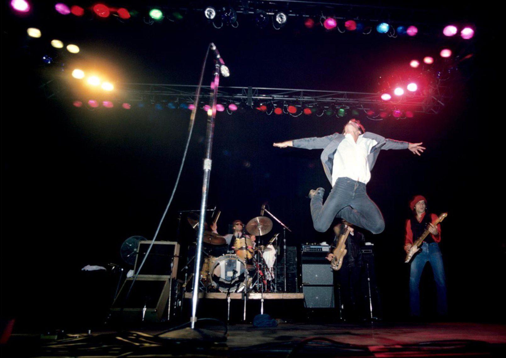 Bruce Springsteen Jumping
