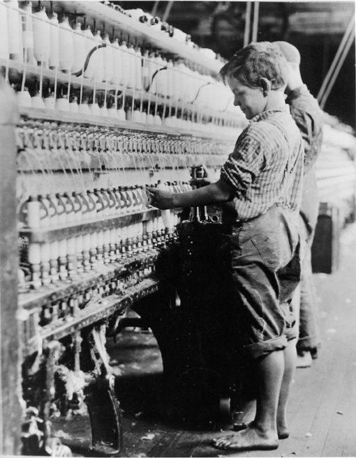 """""""Cotton Mill Boy"""" N. Pownal, VT"""