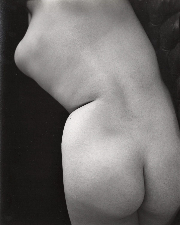 Untitled (Nude torso back bent)