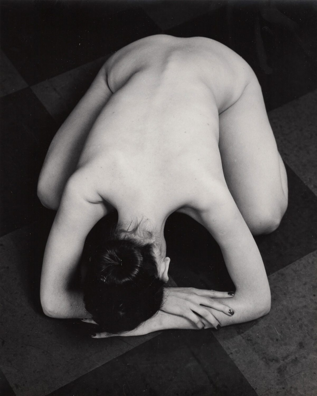 Untitled (Nude on floor)