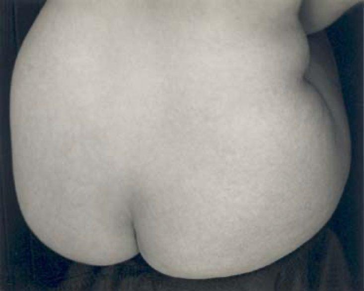 Nude Study, Sitting Bottom