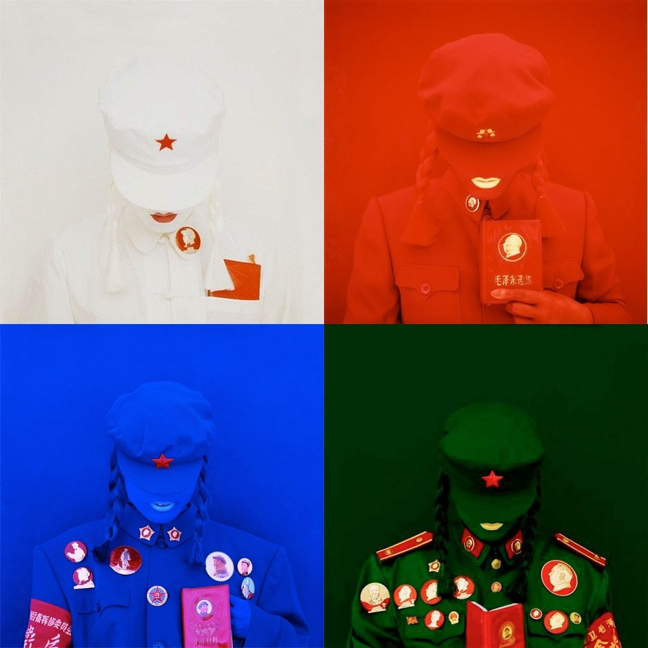 The Mao Brides (Polyptych), Self-Portraits
