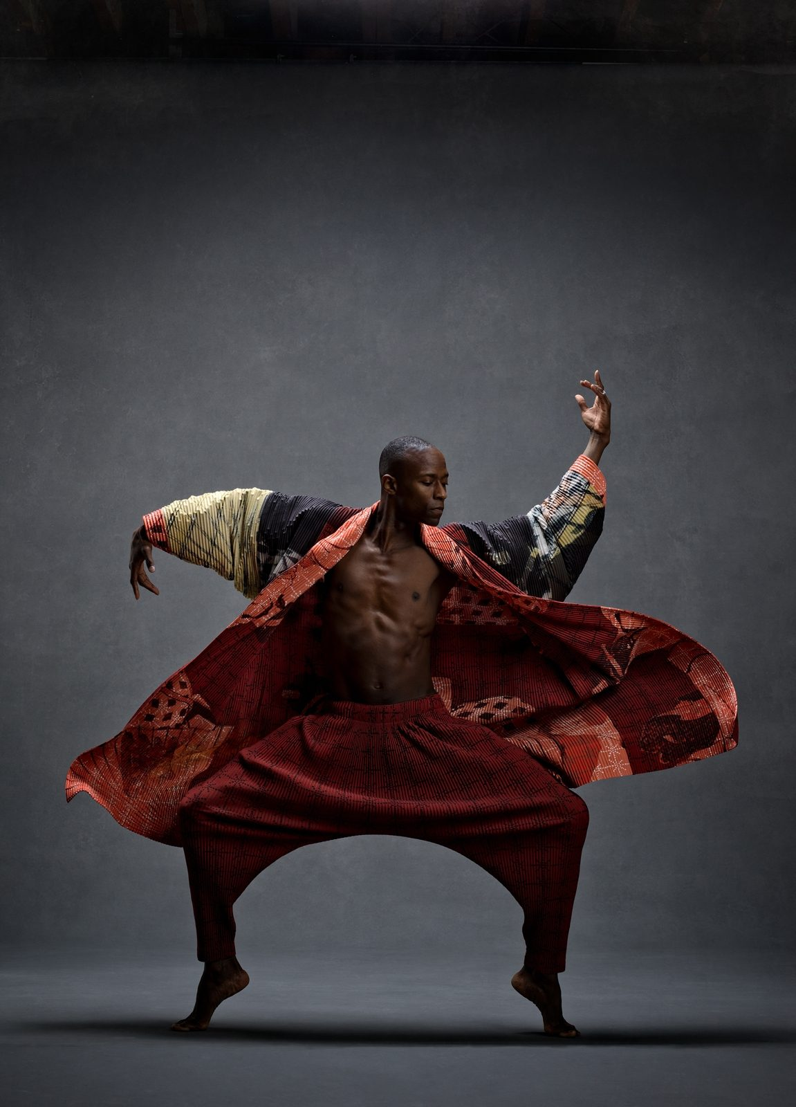Samuel Lee Roberts, Alvin Ailey American Dance Theater, Clothing by Issey Miyake