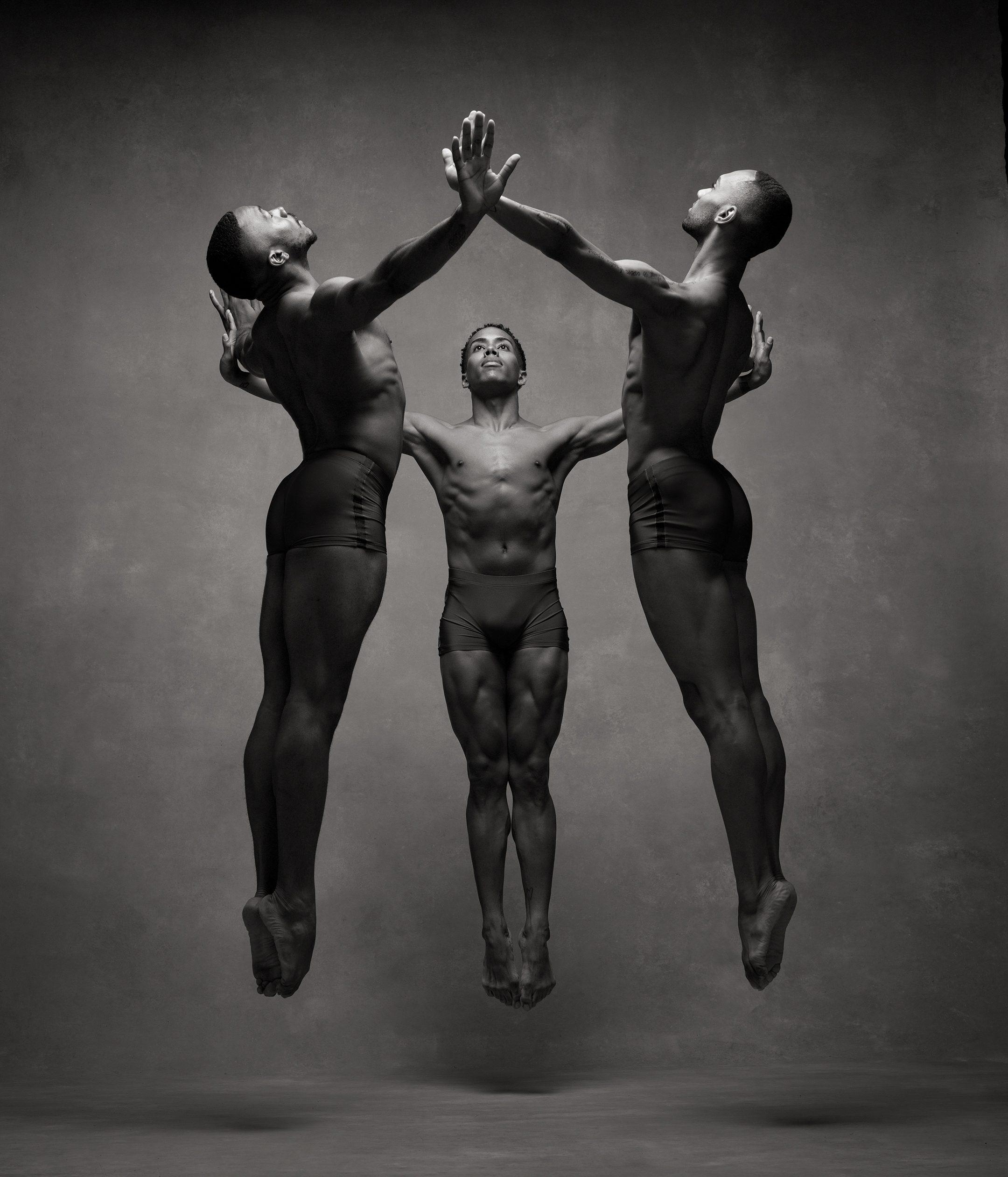 Michael Jackson Jr., Daniel Harder, Sean Aaron Carmon, Alvin Ailey American Dance Theater