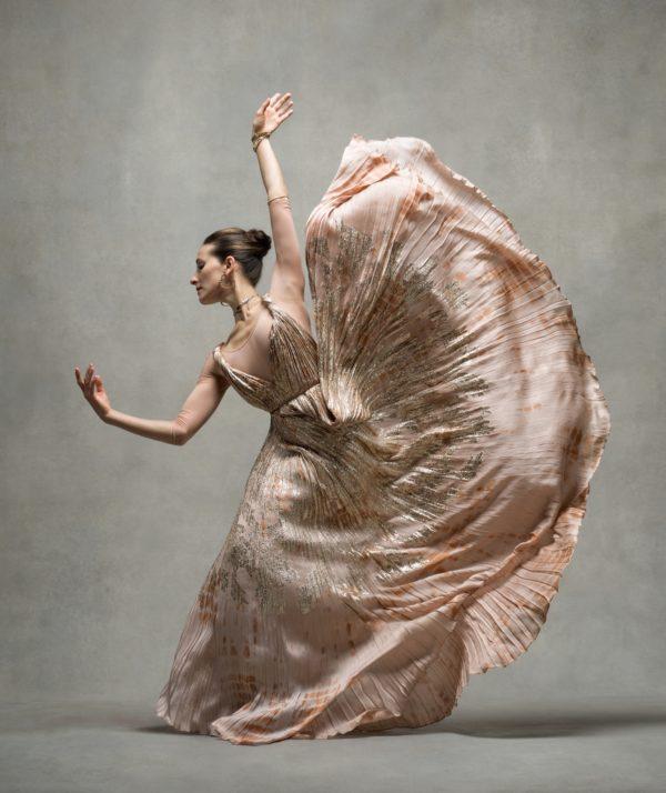 Masha Dashkina Maddux, Principal Martha Graham Dance Company, Dress by Dior
