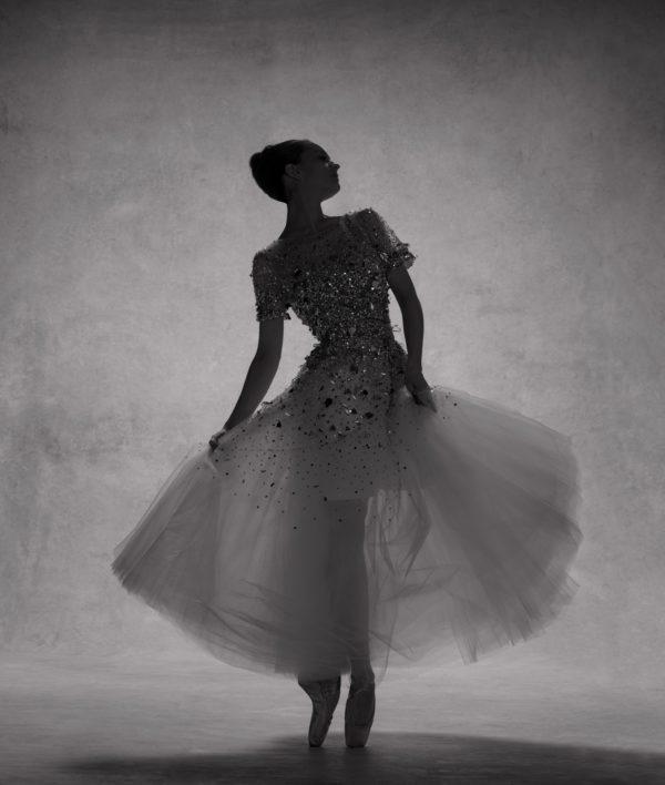 Lauren Lovette, Principal, New York City Ballet, Dress by Oscar de la Renta