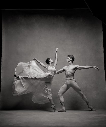 Chase Finlay and Lauren Lovette, Principals, New York City Ballet