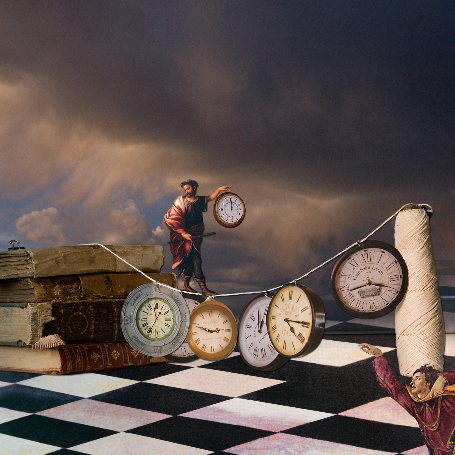 The time thief was not among those that denied the existence of time