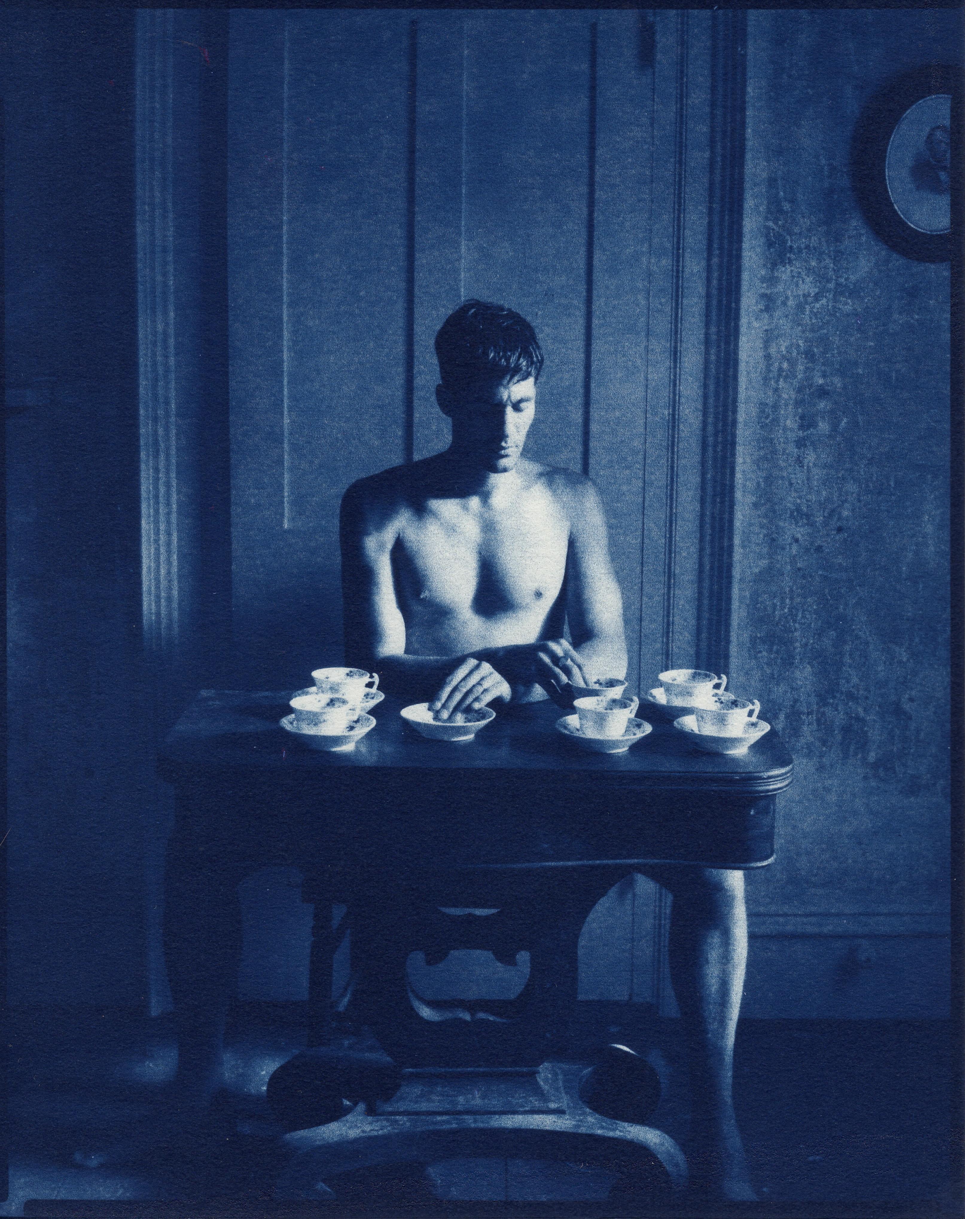 Self Portrait with Teacups