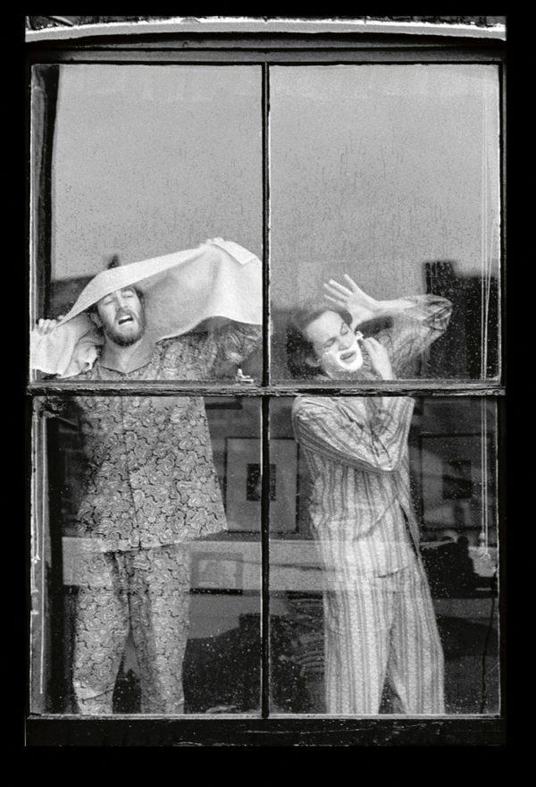 Pyjamas, Shaving
