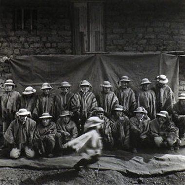 Campesinos de Willoc Ollantaytambo, Cusco, Peru