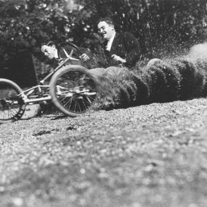 Wheeled Bobsleigh Designed by Jacques Henri Lartigue