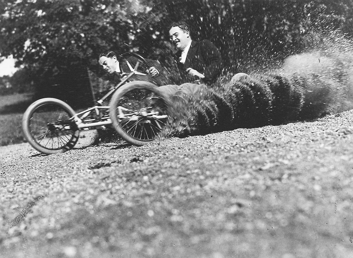 Wheeled Bobsleigh Designed by Jacques Henri Lartigue