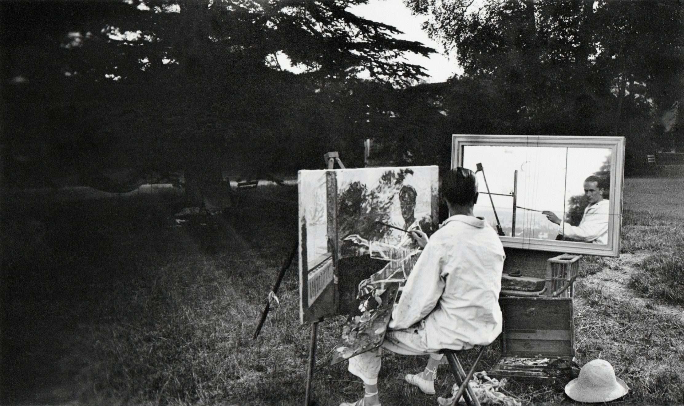 Rouzat, Autoportrait