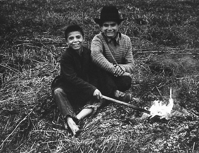 Two Shepherd Boys by Brashoy, Rumania