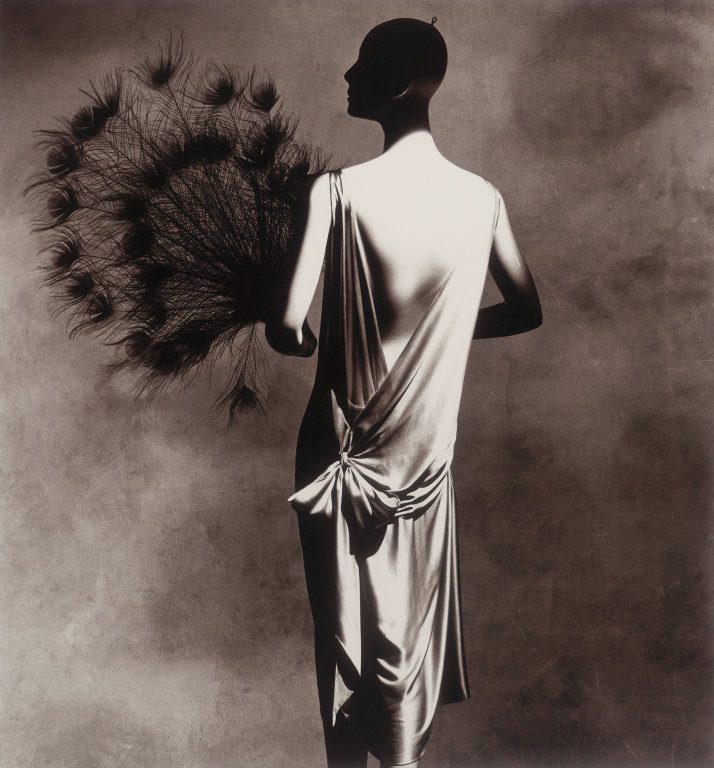 Vionnet Dress with Fan, New York