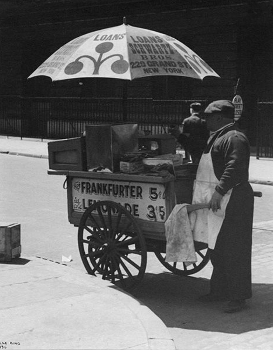 Hot Dog Vendor, NYC