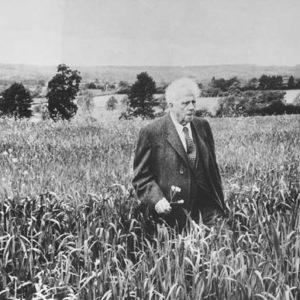 Howard Sochurek, Robert Frost, England