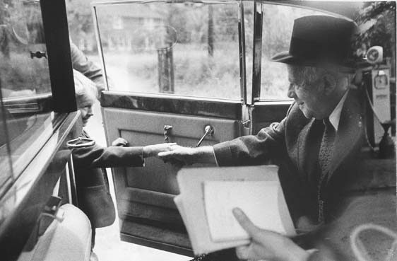 Robert Frost, England