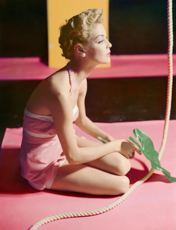 Jean Patchett, Bathing Suit By Brigance
