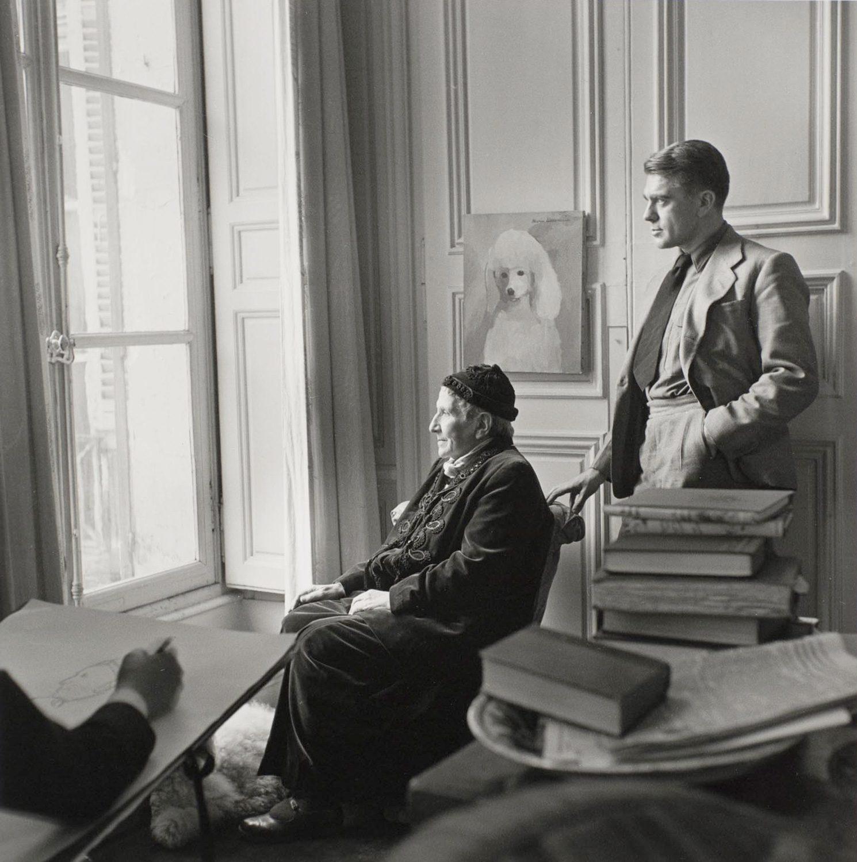 Horst with Gertrude Stein