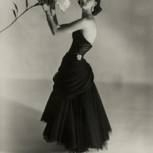 Evelyn Tripp with Flower