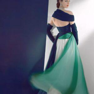 Dress By Jean Desses