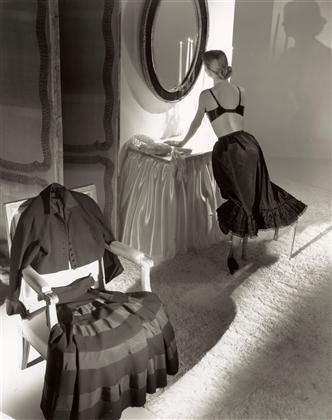 Dior Dress, Petticoat
