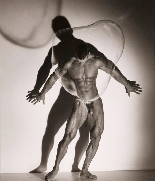 Male Nude with Bubble, Los Angeles