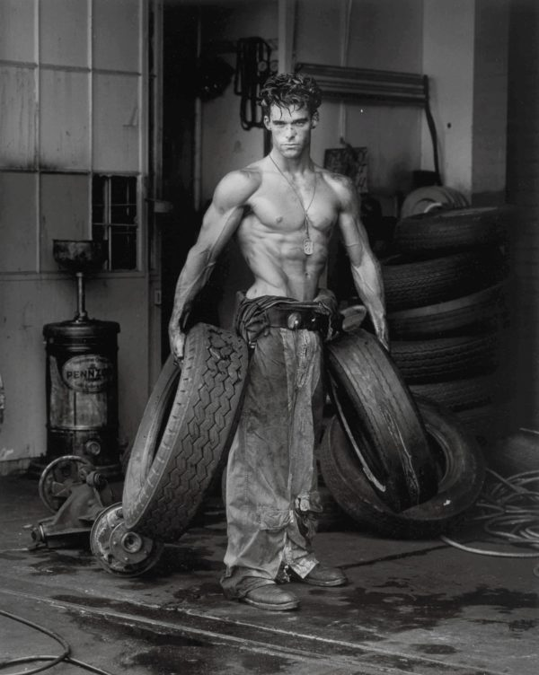 Fred with Tires, Los Angeles (The Body Shop Series)